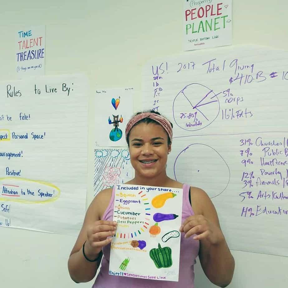Trellis For Tomorrow Program: Youth Seed Enterprise