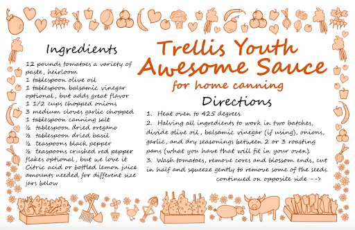Trellis Youth Awesome Sauce