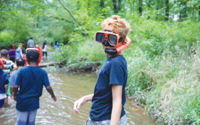 Kids learn life lessons beyond stewardship of the land.